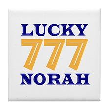 Lucky Norah Tile Coaster