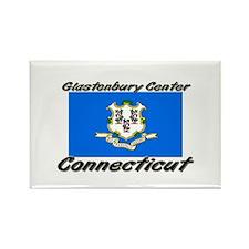 Glastonbury Center Connecticut Rectangle Magnet
