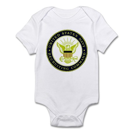 US Navy Recruiting Command Infant Bodysuit