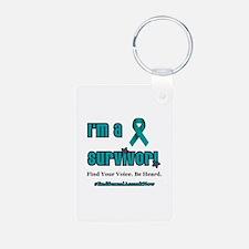 I'm a Survivor Keychains
