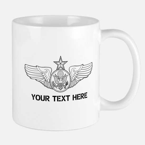 PERSONALIZED SENIOR ENLISTED AIRCREW WI Mug