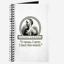 Funny Julius Caesar Salad Journal