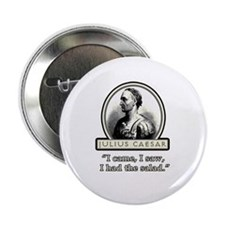 "Funny Julius Caesar Salad 2.25"" Button (100 pack)"