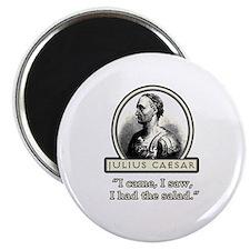Funny Julius Caesar Salad Magnet