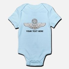 PERSONALIZED MASTER ENLISTED AIRCR Infant Bodysuit