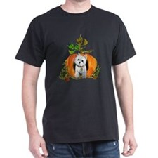 Autumn Pumpkin Westie T-Shirt