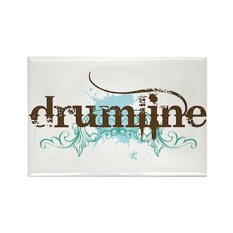 Drumline grunge Rectangle Magnet
