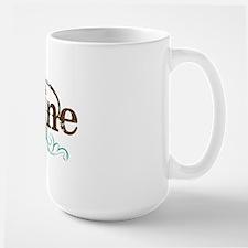 Drumline grunge Large Mug