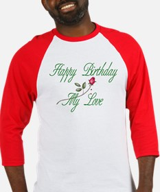 Lover Birthday Baseball Jersey