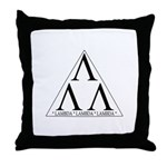 Lambda Lambda Lambda Throw Pillow