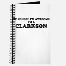 Of course I'm Awesome, Im CLARKSON Journal