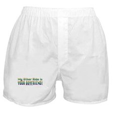 My Other Ride is Your Boyfriend Boxer Shorts
