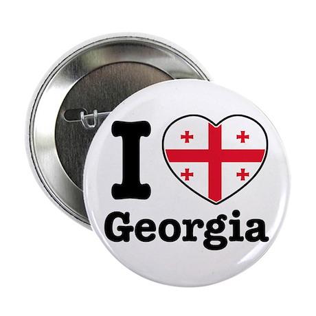 """I love Georgia 2.25"""" Button (100 pack)"""