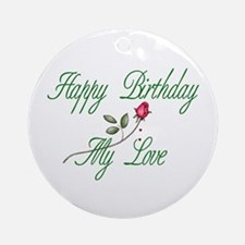 Lover Birthday Ornament (Round)