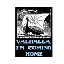 VALHALLA, I'M COMING HOME Postcards (Package of 8)