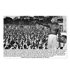 Mahatma Mohandas K Gandhi Postcards (Package of 8)