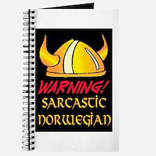 SARCASTIC NORWEGIAN! Journal