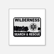Wilderness Search & Rescue Sticker