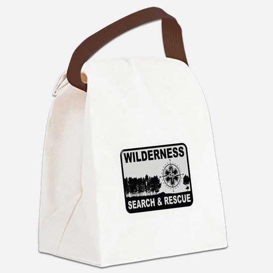Wilderness Search & Rescue Canvas Lunch Bag