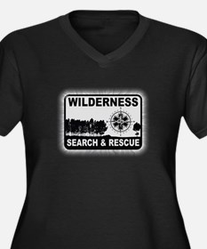 Wilderness Search & Rescue Plus Size T-Shirt