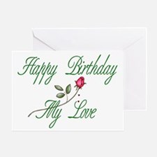 Lover Birthday Greeting Card