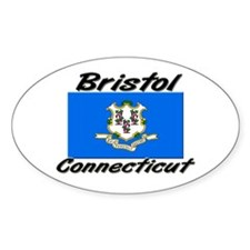 Bristol Connecticut Oval Decal