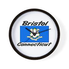 Bristol Connecticut Wall Clock