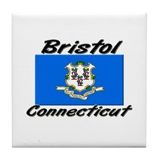 Bristol Connecticut Tile Coaster