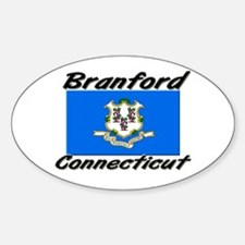 Branford Connecticut Oval Decal