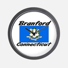 Branford Connecticut Wall Clock