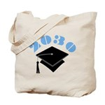 Class Of 2030 Graduation Gift Tote Bag