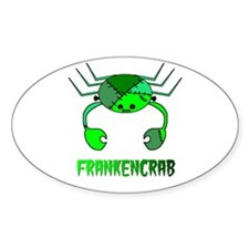 FRANKENCRAB Oval Decal