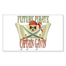 Future Pirates Rectangle Decal
