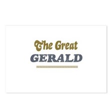 Gerald  Postcards (Package of 8)