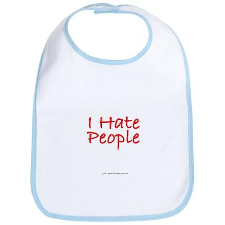 I Hate People Bib
