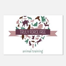 Truly Force Free Animal Training Postcards (Packag