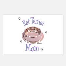 Rat Terrier Mom Postcards (Package of 8)