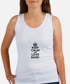 Keep Calm and Love BAND Tank Top