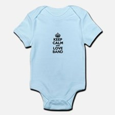 Keep Calm and Love BAND Body Suit
