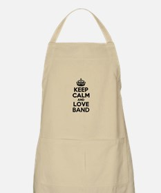 Keep Calm and Love BAND Apron