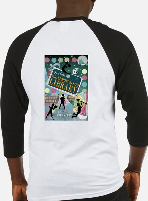 Escape From Mr. Lemoncellos Library Baseball Jerse