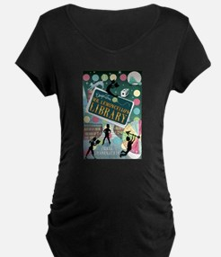 Escape From Mr. Lemoncellos Library Maternity T-Sh