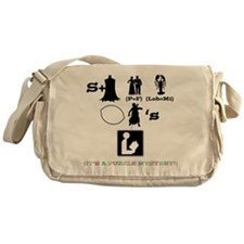 Escape From Mr. Lemoncellos Library Messenger Bag