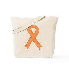 Peach Ribbon Tote Bag