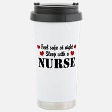 Funny Registered nurse Travel Mug