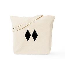 Double Diamond Ski Tote Bag