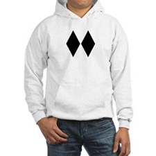 Double Diamond Ski Hoodie Sweatshirt