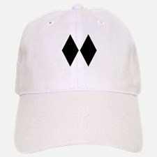 Double Diamond Ski Baseball Baseball Cap