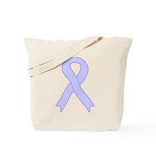 Periwinkle Ribbon Tote Bag