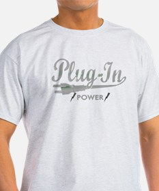 Plug In Power for dark T-Shirt